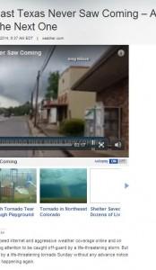 the tornado east texas never saw coming